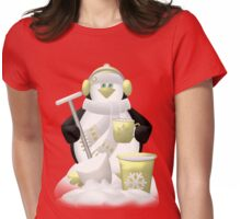Time For A Cuppa  Womens Fitted T-Shirt
