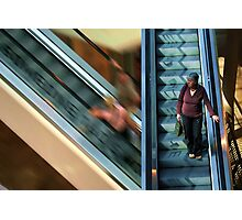 Life in the slow lane Photographic Print