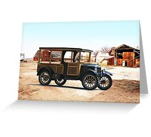 1926 Ford Model T Utility Truck Greeting Card