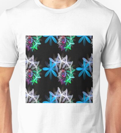 Flowers in a Spin - repeat pattern T-Shirt