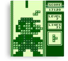 Tetris Bros. Canvas Print