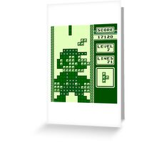 Tetris Bros. Greeting Card