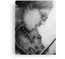 il violino Canvas Print