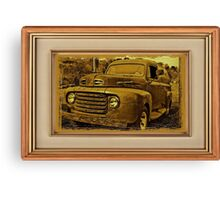 """""""Momma's Ford"""" ... with a matted and framed presentation for prints and products Canvas Print"""