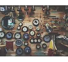 Cape Clocks Photographic Print