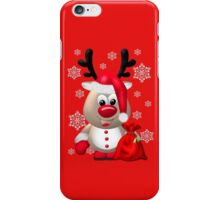 Red Nose Reindeer  iPhone Case/Skin