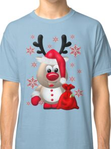 Red Nose Reindeer  Classic T-Shirt