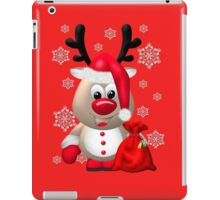 Red Nose Reindeer  iPad Case/Skin
