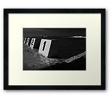 The Dark Room Framed Print