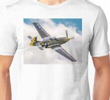 "P-51D Mustang G-MSTG ""Janie"" Unisex T-Shirt"