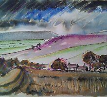 'Grouse Moors, Wharfedale' by Martin Williamson (©cobbybrook)
