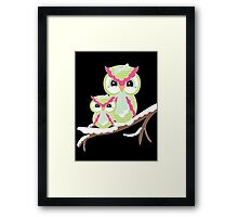 Two Owls for Christmas  Framed Print