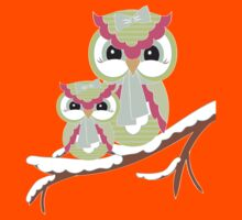 Two Owls for Christmas  Kids Clothes