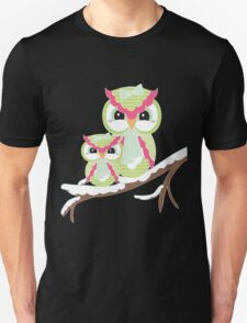 Two Owls for Christmas  T-Shirt