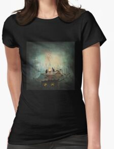 As time goes by .... Womens Fitted T-Shirt