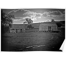 Rural Ruins Poster