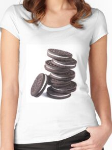 OREO Women's Fitted Scoop T-Shirt