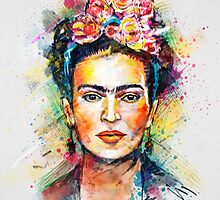 Frida Kahlo by tracieandrews
