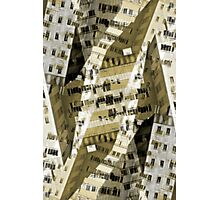 Abstract city buildings Photographic Print