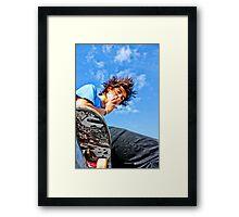Jeremy - Smokin' Up Framed Print