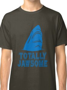 Totally jawsome awesome shark geek funny nerd Classic T-Shirt