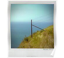 Cliff Polaroïd Poster