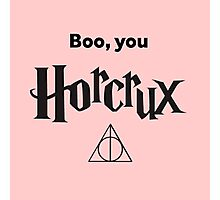Boo You Horcrux Photographic Print