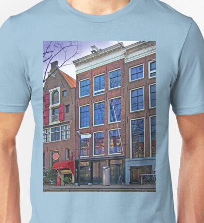 Anne Frank Home In Amsterdam Unisex T-Shirt