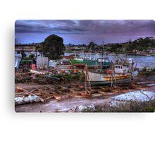 Yacht - HDR Canvas Print