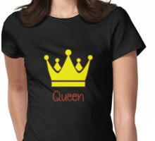 Royal Family - Queen Womens Fitted T-Shirt