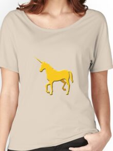 Unicorn on the cob geek funny nerd Women's Relaxed Fit T-Shirt