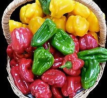 Sweet Capsicums by TonyCrehan