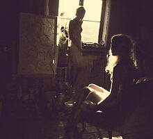 The artist loft 2 by Alexandra Ekdahl