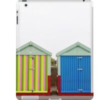 Stripy Beach Huts iPad Case/Skin
