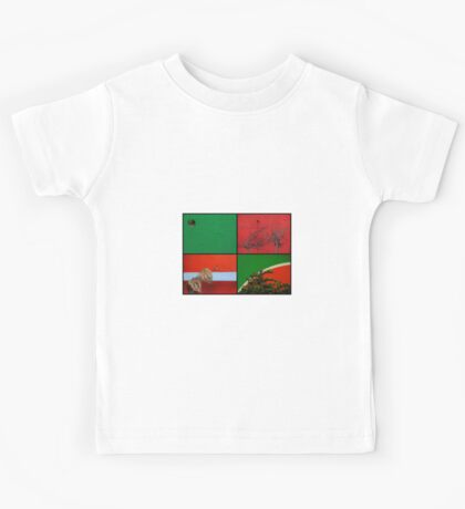 Urban Nature Collage Kids Tee