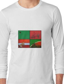 Urban Nature Collage Long Sleeve T-Shirt