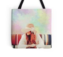 Mia Ribbon Hat Tote Bag