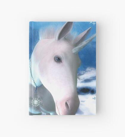Snowflake Hardcover Journal