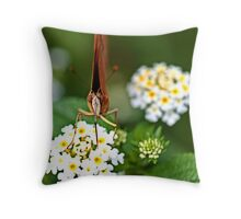 My favorite food  Throw Pillow