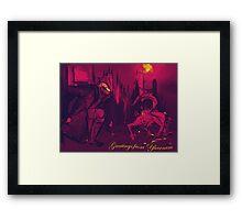 Bloodborne Yharnam Postcard Framed Print
