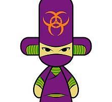 Capsule Toyz - Purple Ninja by Saing Louis