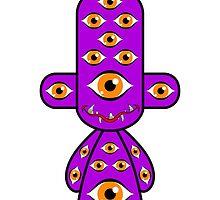 Capsule Toyz - Wierd Monster by Saing Louis