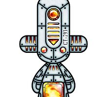 Capsule Toyz - Mechanic Fire by Saing Louis