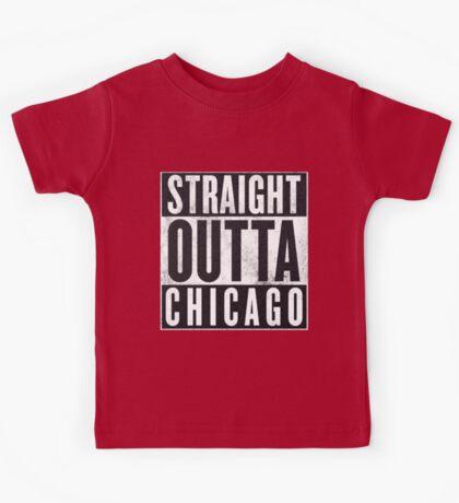Straight Outta Chicago Kids Tee