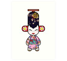 Capsule Toyz - Geisha Art Print