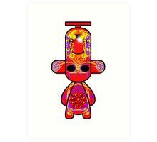 Capsule Toyz - Tribal Tattoo Art Print