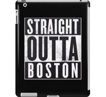 Straight Outta Boston iPad Case/Skin