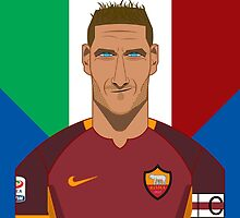 Francesco Totti by Daniel Astudillo