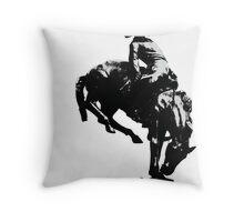 Glasgow Cowboy Throw Pillow