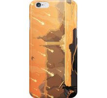 From the sky, fire rained. (vertical) iPhone Case/Skin